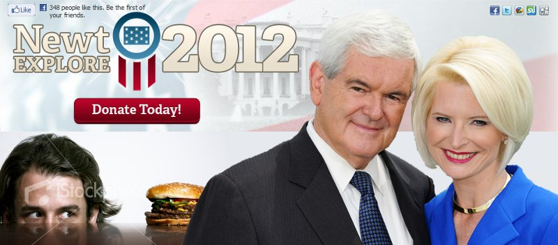 The Newt Gingrich weight-loss program