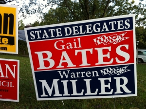 Gail Bates and Warren Miller for Delegate (2010)