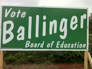 Bob Ballinger for Board of Education (2010)