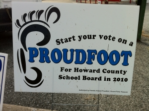 David Proudfoot for Board of Education (2010)