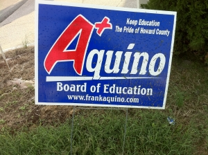 Frank Aquino for Board of Education (2010)