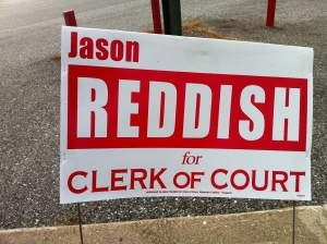 Jason Reddish for Clerk of Court (2010)