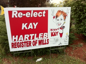 Kay Hartleb for Register of Wills (2010) (with picture)