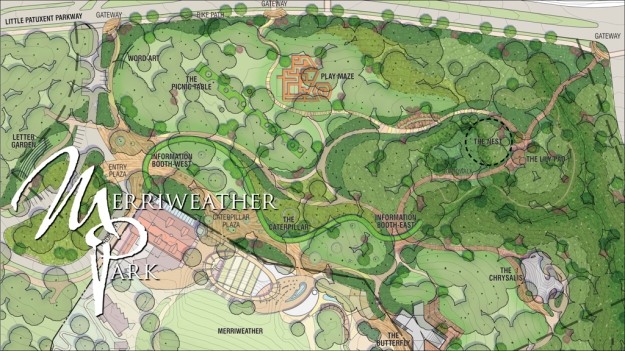 Merriweather Park original plan