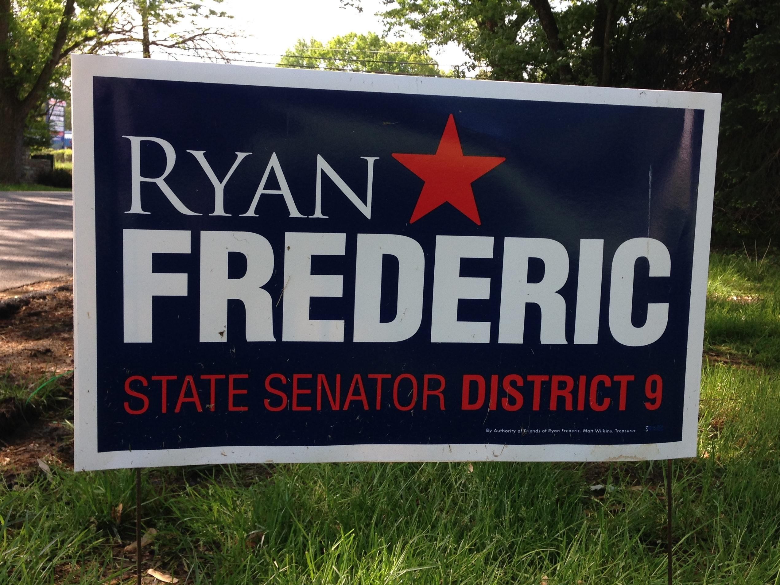 Campaign signs 2014: Maryland State Senate District 9 ...