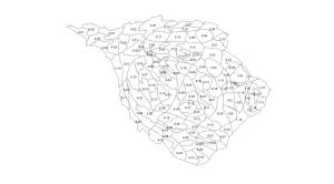Howard County, Maryland precinct cartogram
